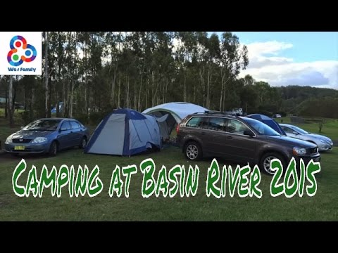 Camping at bent basin Sydney