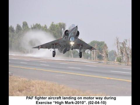 Pakistan Airforce rehearsals on Motorway
