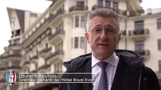 A la découverte de la source Evian avec Le Palace Royal Evian