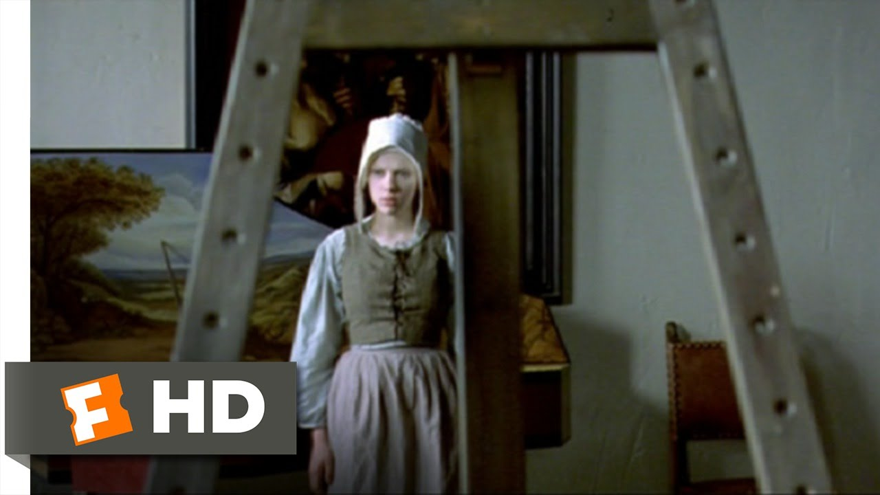 12) Movie Clip  Catharina Sees The Painting  (2003) Hd