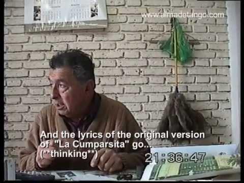 Reportaje a Un Tanguero de Ley, Don Fernández - Interview with a True Tango Lover, Mr Fernández.