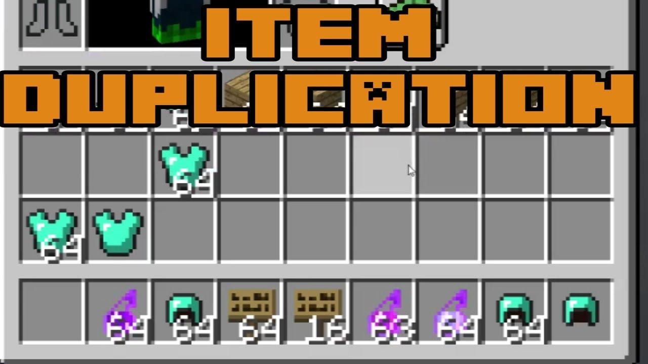 Minecraft 1 12 - SIMPLE ITEM DUPLICATION - GAME BREAKING BUG
