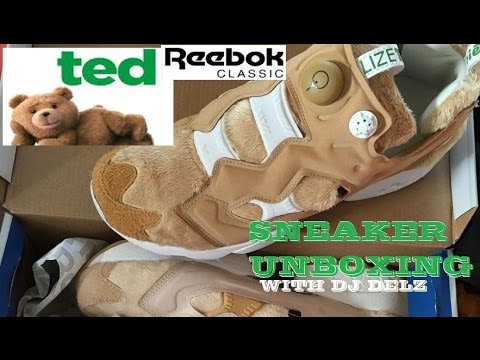 f7f1796e Reebok Ted Bait Instapump Fury Sneakers Unboxing (Both Happy & Angry Shoes)  - YouTube