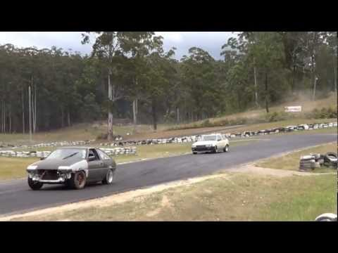 Drift Fest Zero 1 - 20v Ae86 vs Ae86 @ Raleigh with Ae86 Driving Club