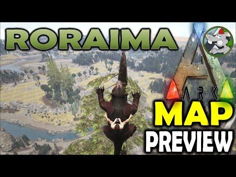 ARK Map - RORAIMA - Sponsored Mods - Ark Survival Evolved