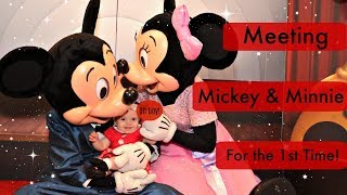 Meeting Minnie & Mickey For the First Time! thumbnail