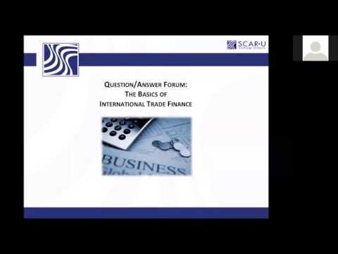 International Trade Finance: What is best practice for small companies?