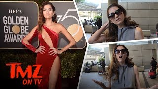 Blanca Blanco Likes To Show Off Her Body! | TMZ TV