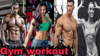 Trending Gym workout tik tok videoes#fitness 6 | trending video#tiktok #trending#gym| Tik_tok India