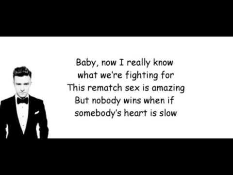 Justin Timberlake - TKO Lyrics (Official song)