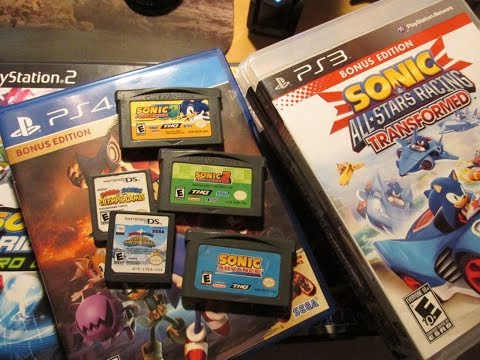 Sonic The Hedgehog Video Game Collection
