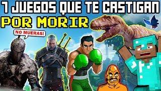 Top 7 Videojuegos que te Castigan por MORIR