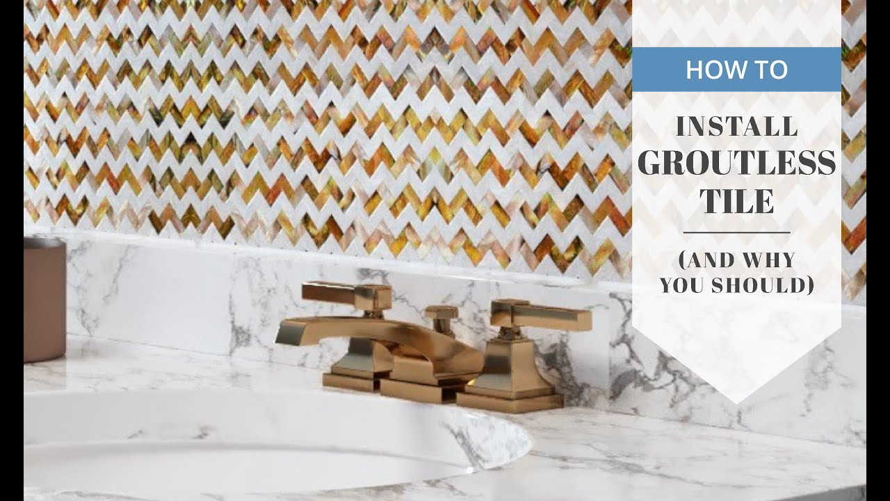 The Essential Guide To Groutless Tile