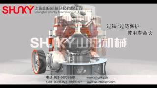 SKH Hydraulic Cone Crusher