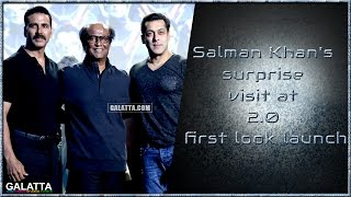 #Salman Khan speaks surprising facts about #Rajinikanth at #2.0  launch