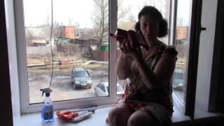 Магнитная щетка для мытья окон ВИДЕО отзыв ФУФЛО