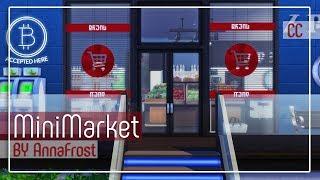 The Sims 4: Строительство | Минимаркет | WardPark Drive, 17