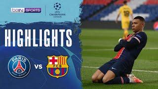 PSG 1-1 Barcelona   Champions League 20/21 Match Highlights