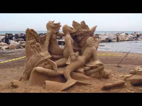 30 Most Amazing Sand Art & Sculptures 2016