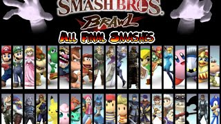 Super Smash Bros. Brawl: All Final Smashes