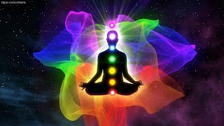 Music to Cleanse the Aura and Align the Chakras While You Sleep | Stress Relief, Calm The Mind