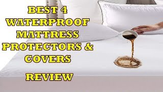 Best 4 Waterproof Mattress Protectors & Covers - Review & Features [Hindi] 2018