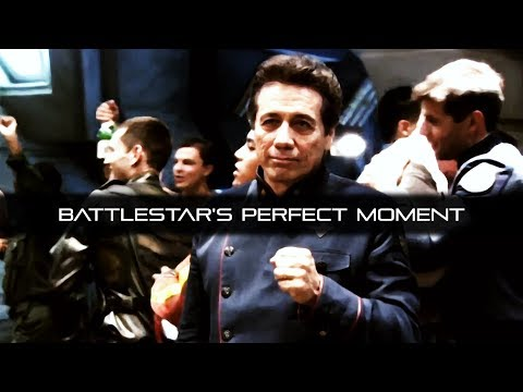 Battlestar Galactica's Perfect Moment