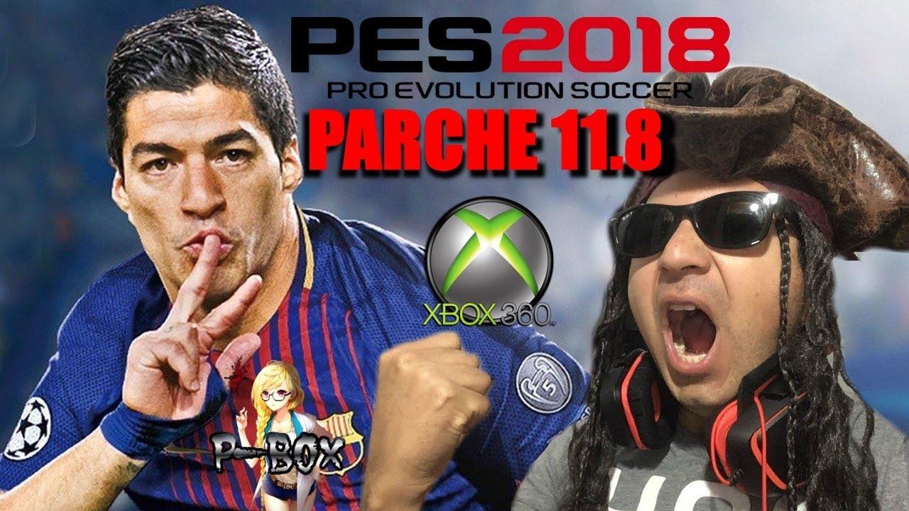 Parche 11 8 Pes 18 Xbox 360 Rgh Dlc 4 0 Tu 6 Liga Uruguaya