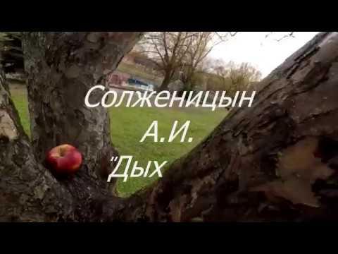 Изображение предпросмотра прочтения – МарияГуляева читает произведение «Крохотки:Дыхание» А.И.Солженицына