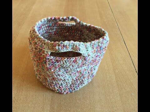 vote no on tuto panier sac au crochet. Black Bedroom Furniture Sets. Home Design Ideas