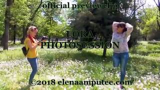 Elena amputee preview - Clip Photosession