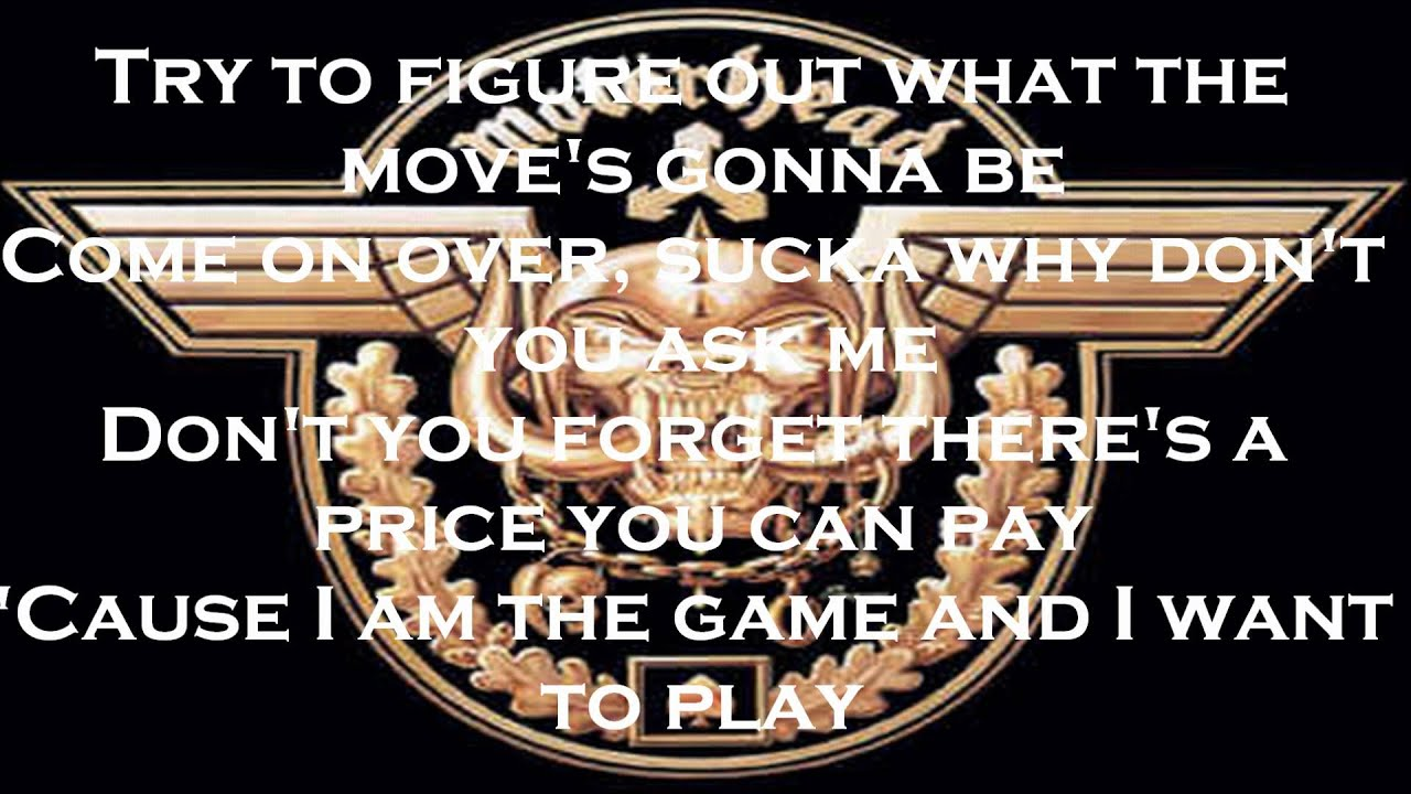 motorhead the game