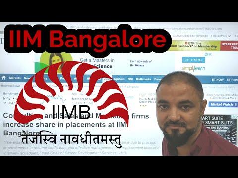 IIM Bangalore 2019 Summer Placements. Very Motivating. D28