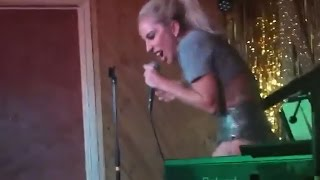 """Lady Gaga Performs """"Perfect Illusion"""" & Reveals How Fame 'Traumatized' Her"""