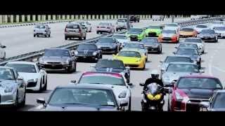 Convoi Nissan GTR R35 at Penang