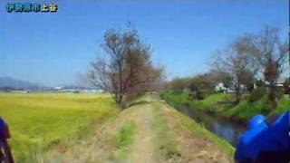 初秋の金目川・渋田川(花水川河口→大田道灌墓所)×1.6倍速