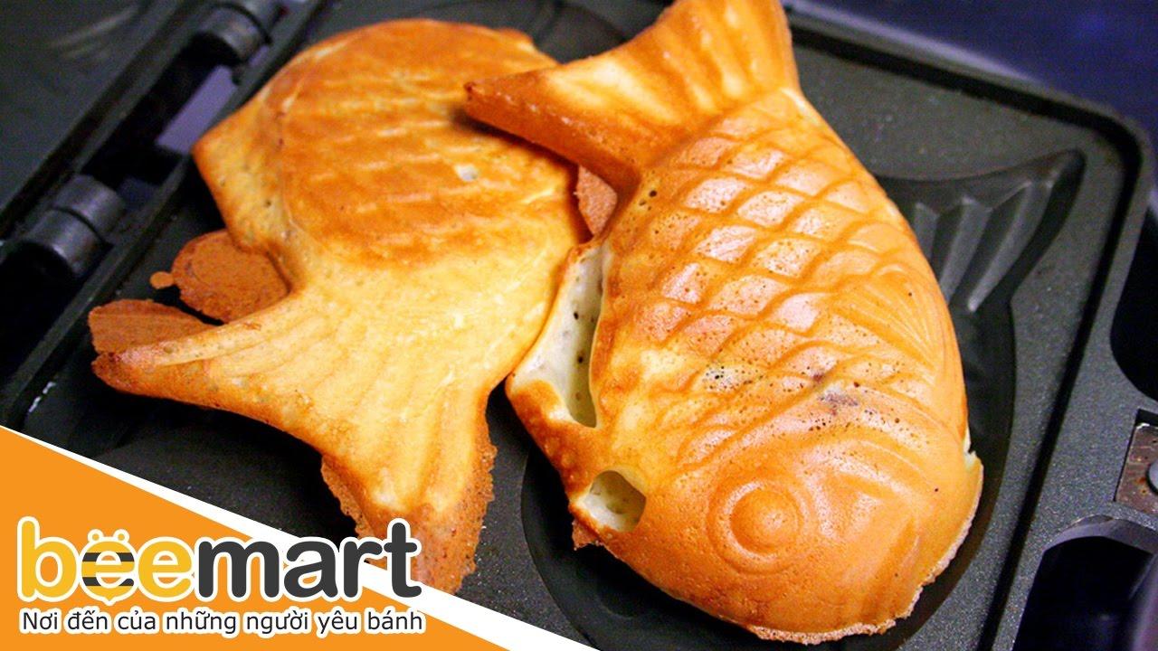 Hướng dẫn làm bánh cá Taiyaki tại nhà - BEEMART