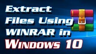 how rar files windows 10