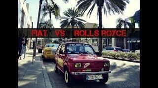 FIAT 126 VS ROLLS ROYCE PHANTOM IN BEVERLY HILLS
