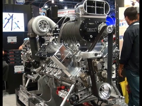 Twin Turbo Supercharged Nitrous Duramax Engine