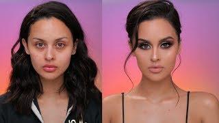 Drugstore Glam Makeup Tutorial