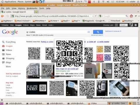 Ubuntu Desktop QR Code Reader - YouTube