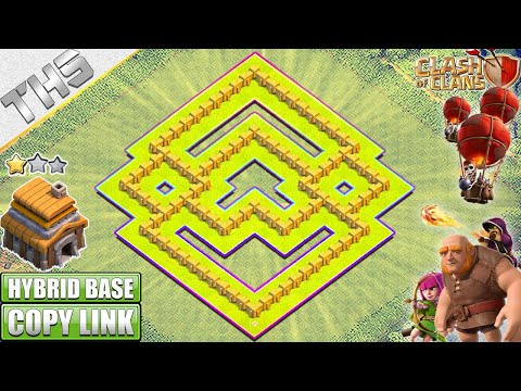 Best TH5 Base [HYBRID/TROPHY Base] 2018!! Town Hall 5 Hybrid Base Design - Clash Of Clans