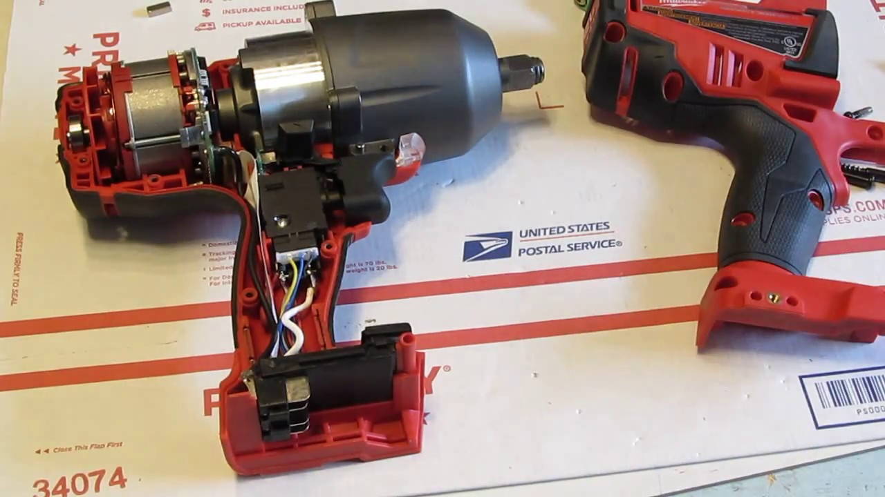 medium resolution of milwaukee repair service for brushless 1 2 impact wrench 2763 20 youtube