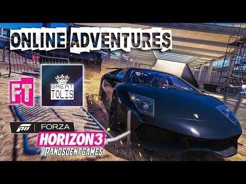 ΞΕΚΙΝΑΜΕ ΤΙΣ ONLINE ΠΕΡΙΠΕΤΕΙΕΣ ft The Great Tolis | Forza Horizon 3 Online
