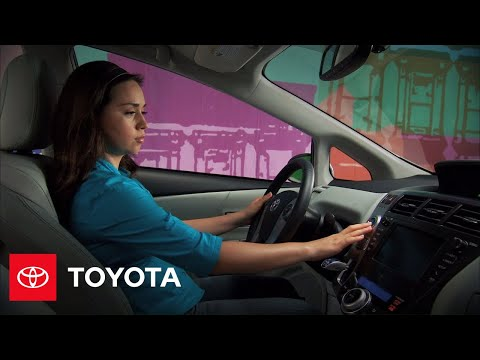 2012 Prius v How-To: Intro and Starting Procedure | 2012  Prius v | Toyota