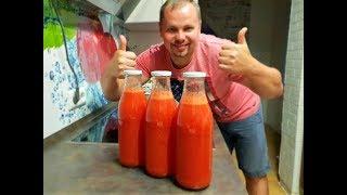 Самый вкусный томатный сок из трех ингредиентов!!!