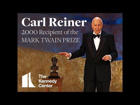 Carl Reiner Acceptance Speech | 2000 Mark Twain Prize