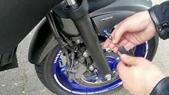 Yamaha XJ6 Verkleidungsschrauben/FZ6R fairing bolts
