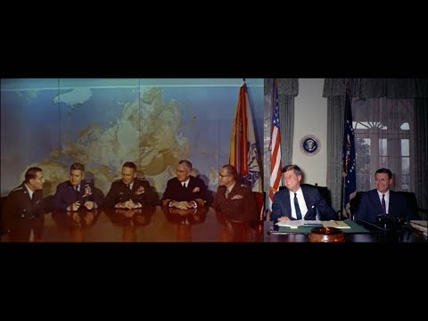 JFK Tapes - Cuban Missile Crisis Meeting with the Joint Chie